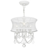 Newcastle 3-Light Convertible Chain Hang/Ceiling Mount