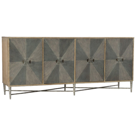 Living Room Melange Zola Four-Door Credenza