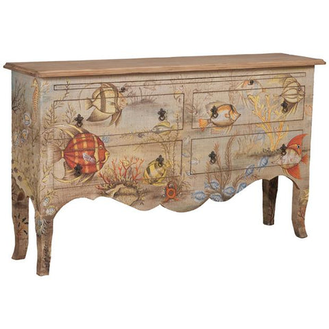 Island Cottage Sideboard in Original Art