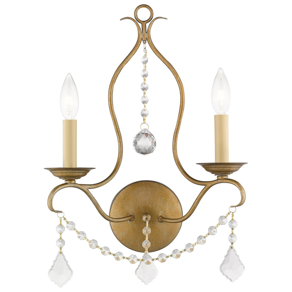 Chesterfield 2-Light Wall Sconce