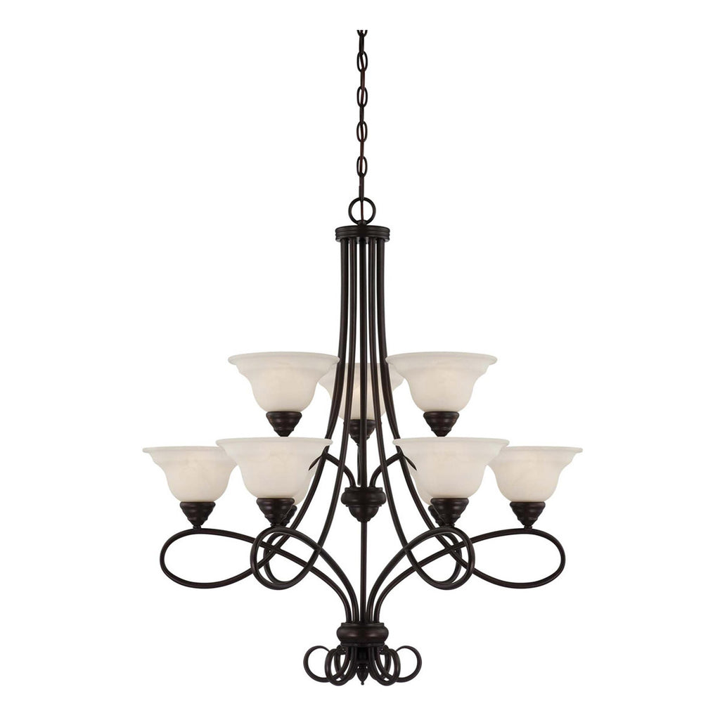 Oxford 9-Light Chandelier