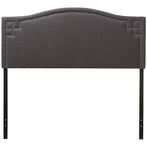 Baxton Studio Aubrey Modern and Contemporary Fabric Upholstered Headboard