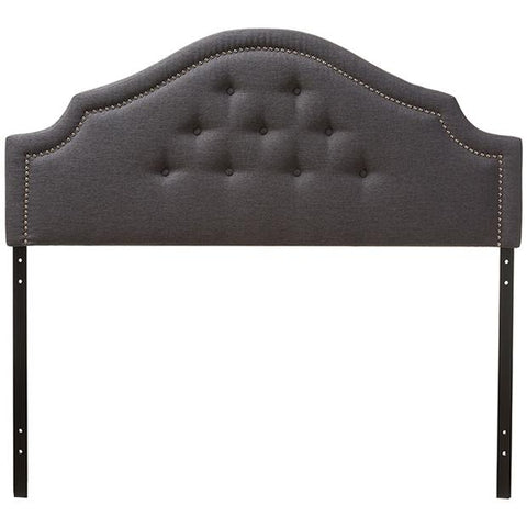 Baxton Studio Cora Modern and Contemporary Fabric Upholstered Headboard