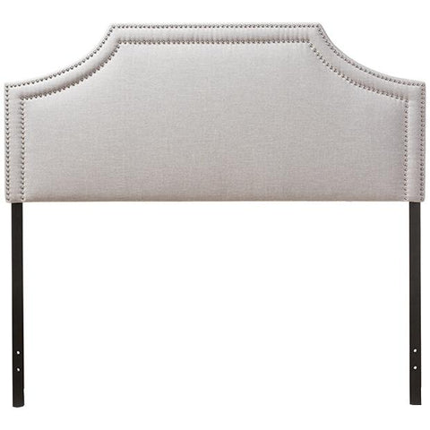 Avignon Modern and Contemporary Fabric Upholstered Headboard