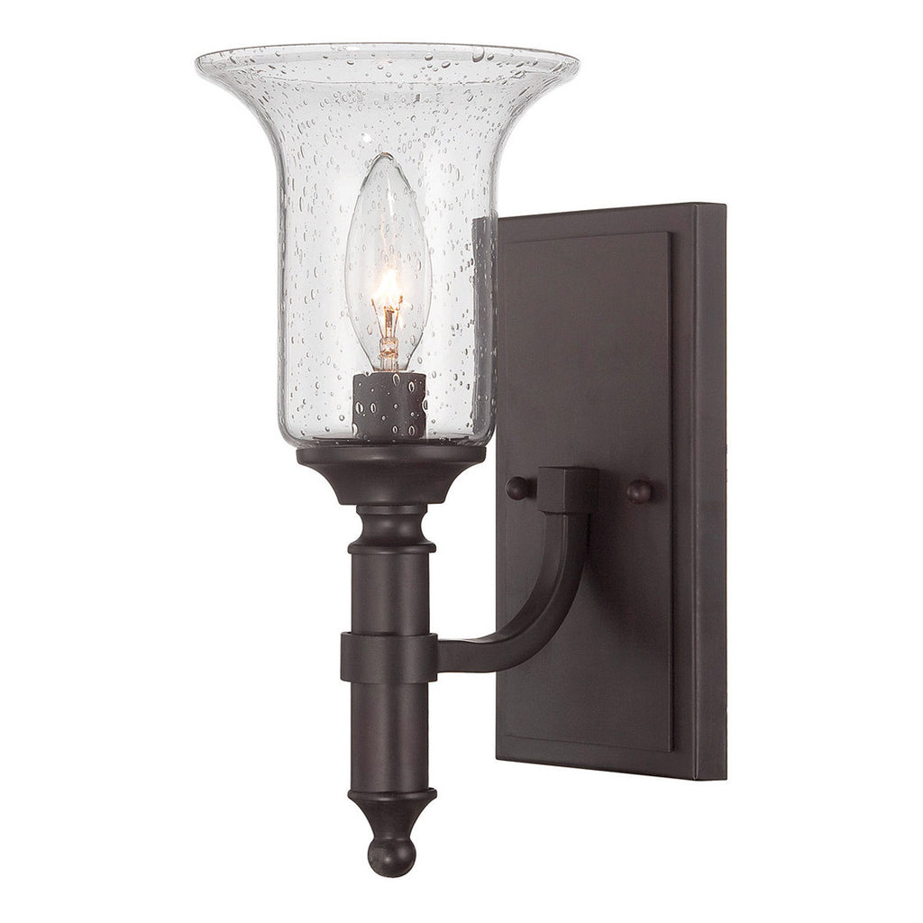 Trudy 1-Light English Bronze Sconce