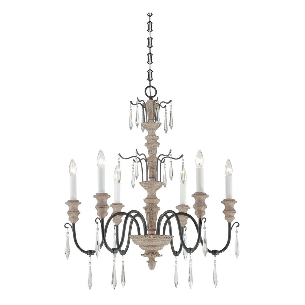 Madeliane 6-Light Chandelier