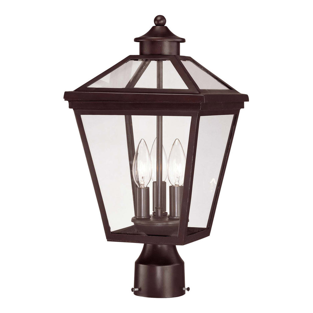 Ellijay 3-Light Post Lantern