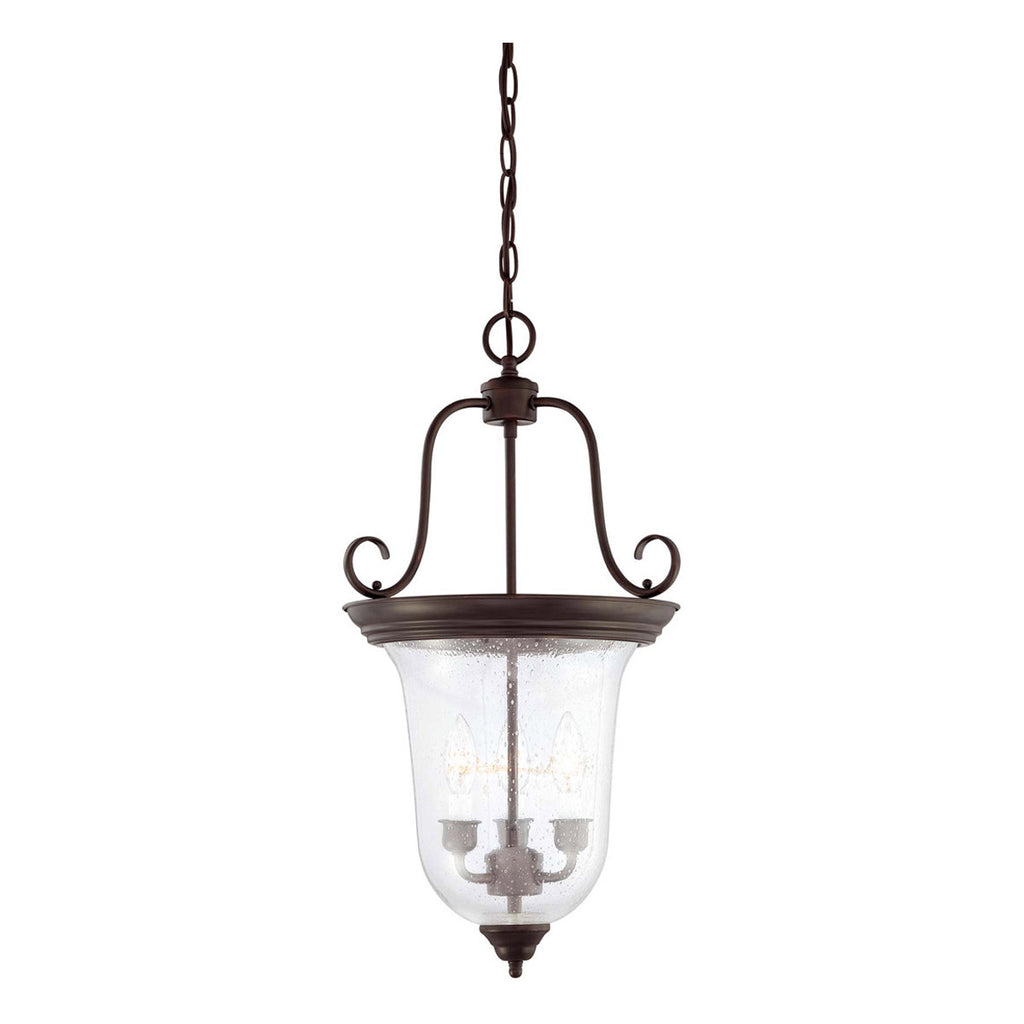 Bell 3-Light Foyer Lantern
