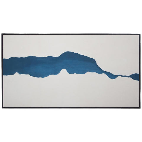 Fissure Wall Art in Hand-Painted Art with Hand Stretched Canvas