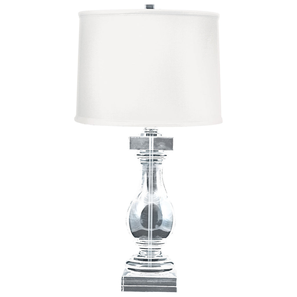 Crystal Ballustrade Table Lamp