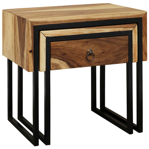Live Wrap Nesting Side Tables (Set of 2)