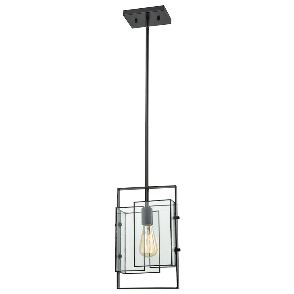 Stratus 1-Light Mini Pendant in Oil Rubbed Bronze