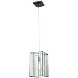 Lucian 1-Light Pendant in Oil Rubbed Bronze with Clear Glass
