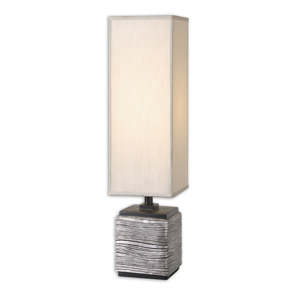 Ciriaco Antiqued Silver Buffet Lamp