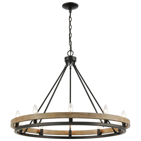 Ramsey 10-Light Chandelier