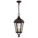Morgan 2-Light Outdoor Pendant Lantern