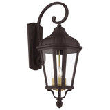 Morgan 3-Light Outdoor Wall Lantern