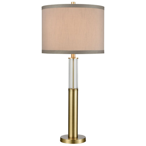 Cannery Row Table Lamp in Brass