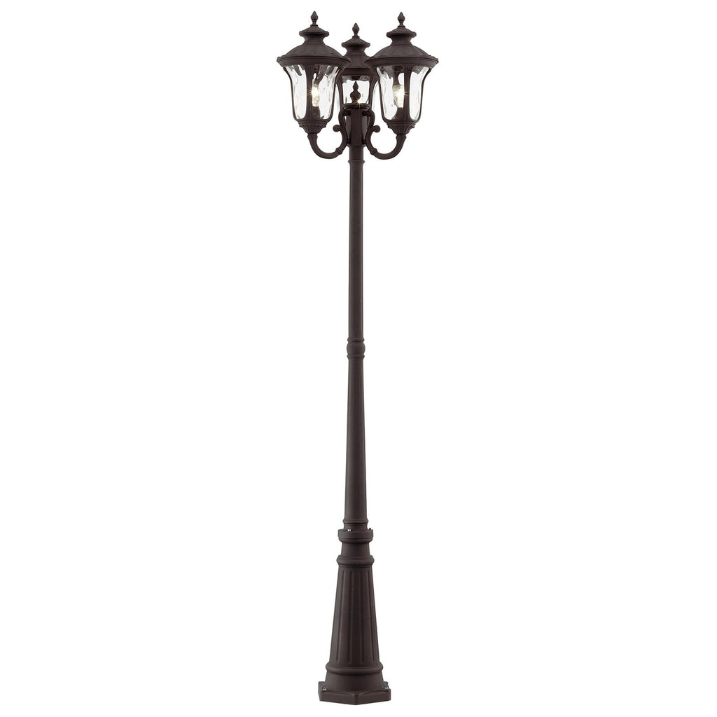 Oxford 3-Light Outdoor 3 Head Post