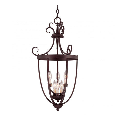 3-Light Entry Lantern Foyer
