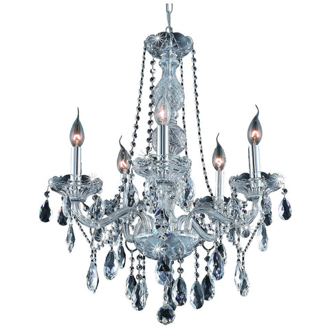 Verona 5-Light 21-Inch Chandelier with Crystal