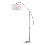 Assissi 1-Light Polished Nickel Floor Lamp