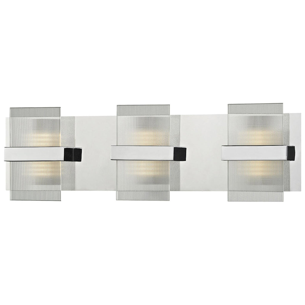 Desiree 21W x 3D x 6H 1-Light Vanity Sconce in Polished Chrome