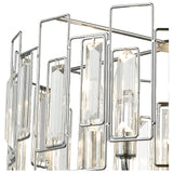 Crosby 5-Light Chandelier in Polished Chrome with Clear Crystal