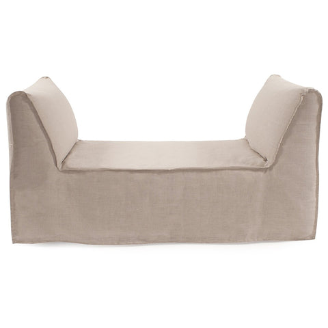 Pod Bench Prairie Linen Natural