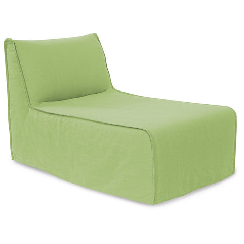 Linen Slub Pod Lounge Chair