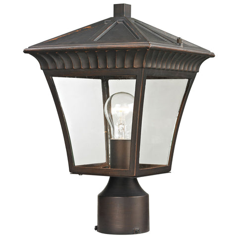 Ridgewood 1-Light Outdoor Post Lamp