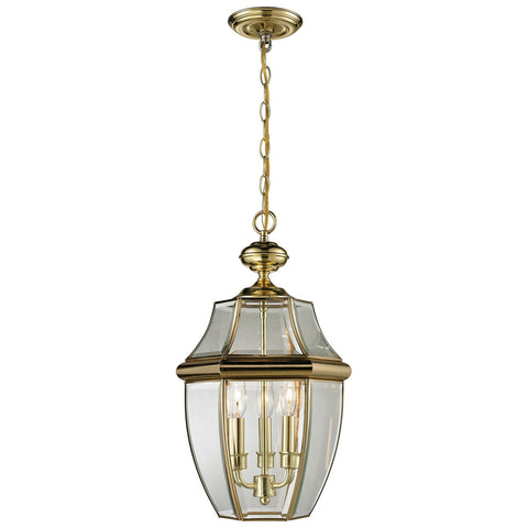 Ashford 3-Light Outdoor Pendant