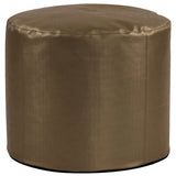 Tall Pouf Luxe in Bronze