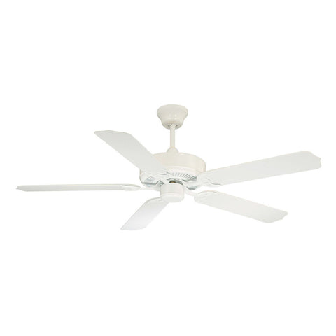 Nomad White Ceiling Fan