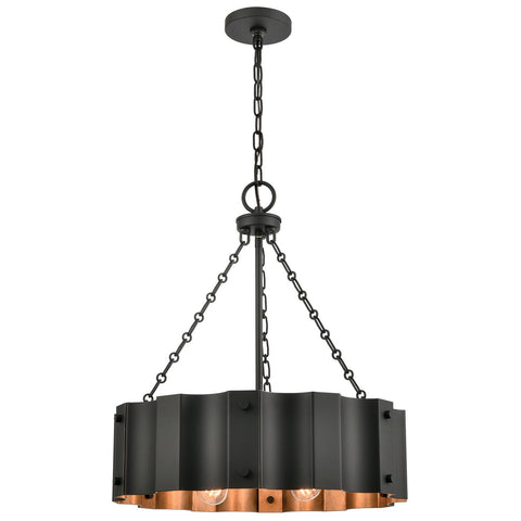 Clausten 4-Light Chandelier