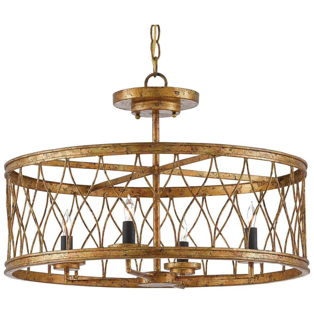 Crisscross Pendant/Semi-Flush