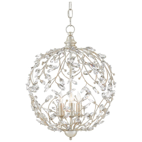 Crystal Bud Sphere Chandelier