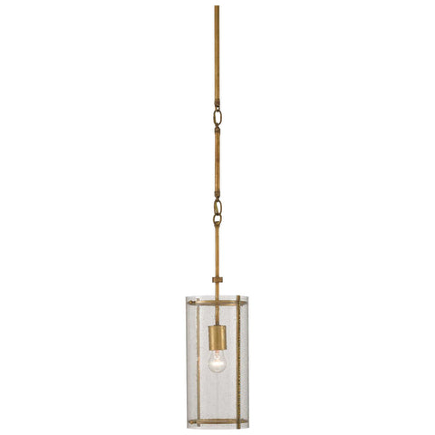 Chase Pendant in Dark Contemporary Gold Leaf