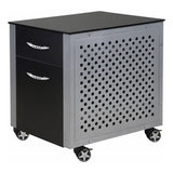 Pitstop Black File Cabinet