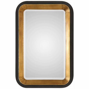 Niva Metallic Gold Wall Mirror