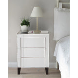 Mirrored 3-Drawer Small Dresser