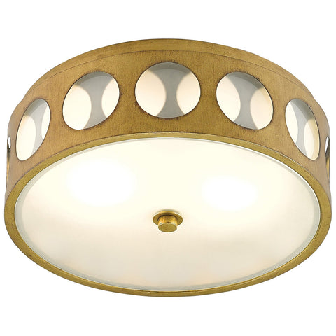 Go-Go Flush Mount in Brass