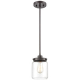 Mason 1-Light Mini Pendant in Oil Rubbed Bronze