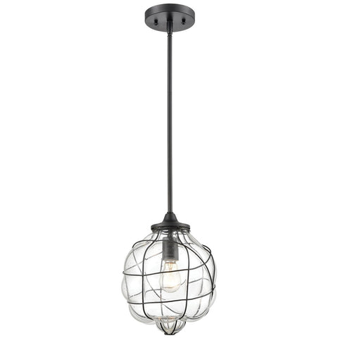 Adorn 1-Light Mini Pendant in Oil Rubbed Bronze