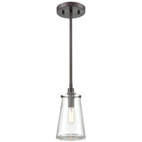 Beaker 1-Light Mini Pendant in Oil Rubbed Bronze