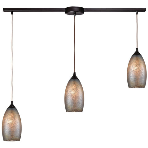 "Illuminessence 3-Light 36"" x 10"" Linear Mini Pendant"