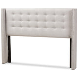 Baxton Studio Ginaro Winged Headboard