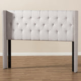 Baxton Studio Ally Winged Headboard