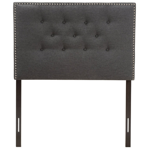 Baxton Studio Windsor Fabric Headboard