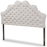 Baxton Studio Hilda Modern and Contemporary Fabric Headboard